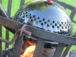 Koken met een vuurkorf